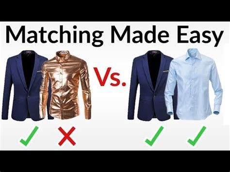 clothes color matching 5 easy matching how to match colors