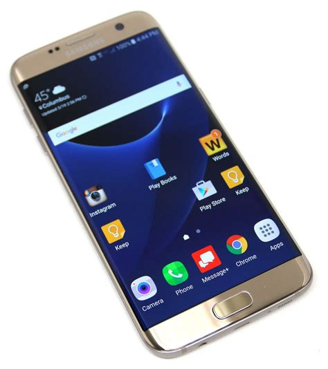 Samsung S7 Edge Samsung Galaxy S7 Edge Review Xyber Galaxy