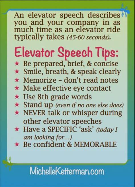 Elevator Speech Exles For Mba Students by 1000 Images About Marketing Elevator Pitches On