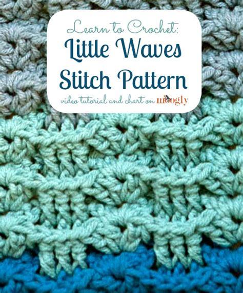 crochet wave stitch free pattern crochet stitches little waves stitch pattern the yarn box the yarn box