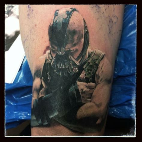batman dog tattoo bane tattoo nanananahhhh batman pinterest tattoos