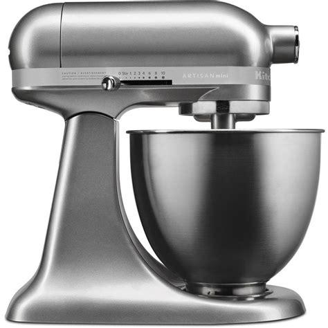 kitchenaid artisan 5 qt silver kitchenaid artisan mini 3 5 qt tilt contour silver