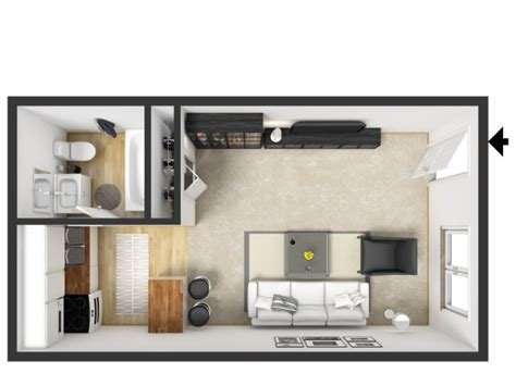 Tiny Floor Plans by Studio 1 Bath Apartment In Grand Rapids Mi Arrowhead