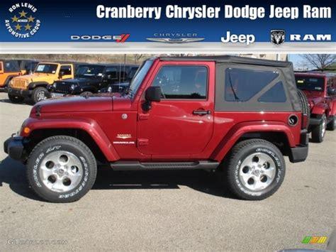 2013 jeep wrangler colors 2013 cherry pearl jeep wrangler
