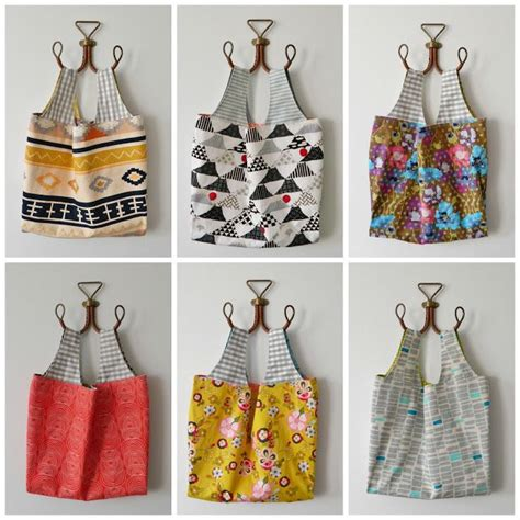 pattern for fabric grocery bags reusable grocery bags s o t a k handmade bloglovin