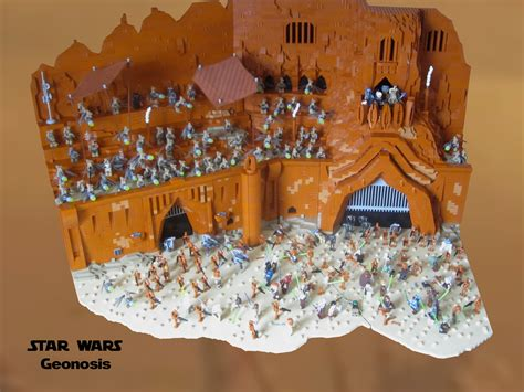 Lego Kw geonosis petranaki arena built by kw vauban lego