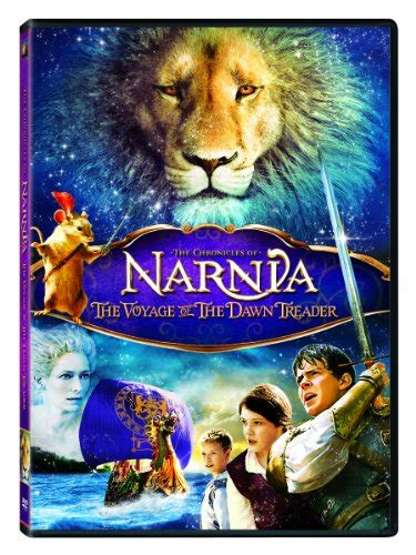 narnia film order dawn treader official cover art for blu ray and dvd