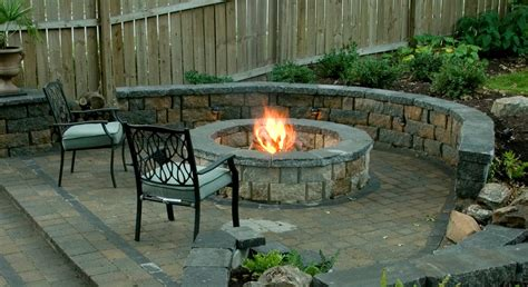 Outdoor Patio Firepit Lawn Garden Pit Design Ideas Outdoor Patio