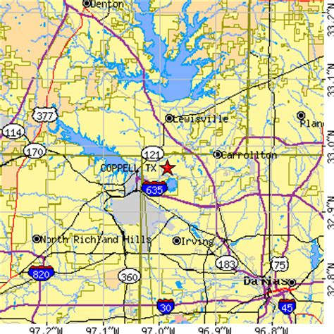 coppell texas map flower mound zip codes flower wiring diagram and circuit schematic