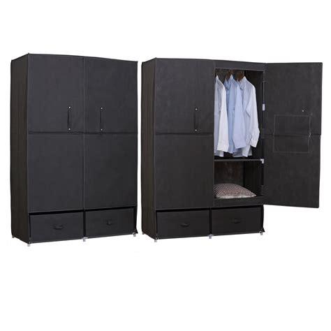 kleiderschrank stoff kleiderschrank garderobenschrank cingschrank