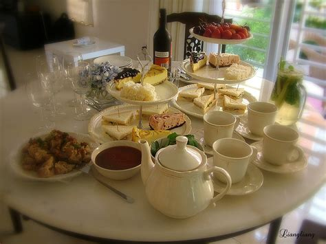 Tea Table Setting by Afternoon Tea