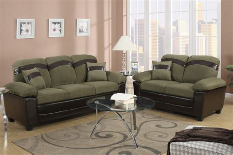 ashley furniture green microfiber sofa sage microfiber sofa ashley microfiber sofa in walnut