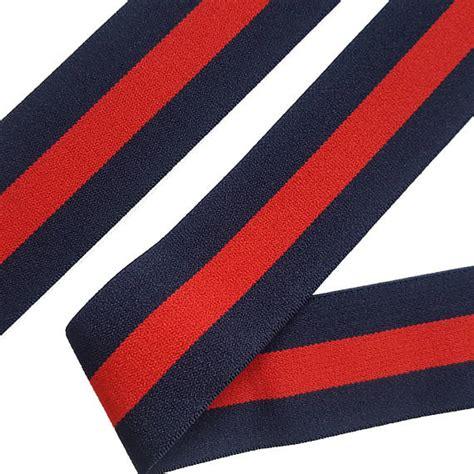 Striped Elastic Hair Band Blue blue stripe rubber band striped elastic trim stretch