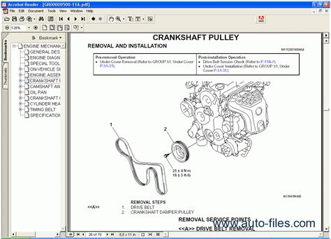 online car repair manuals free 2012 mitsubishi outlander sport on board diagnostic system mitsubishi outlander 2005 repair manuals download wiring diagram electronic parts catalog
