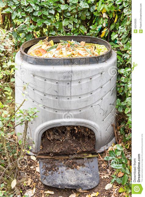 Composting Kitchen Waste At Home by Composting Stock Image Image Of Container Recycling