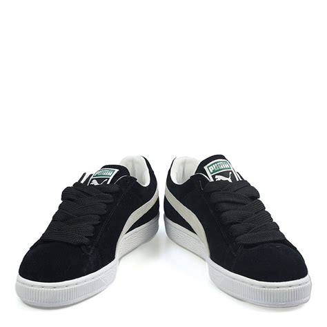 mens black suede trainers cl eco sport casual shoes