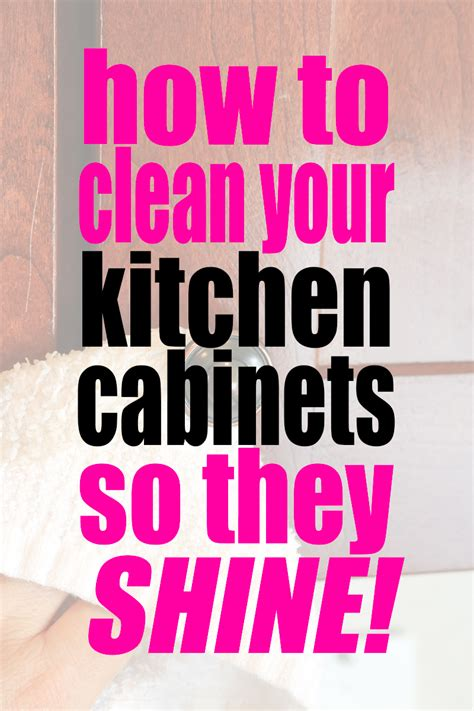 how to clean your kitchen cabinets how to clean kitchen cabinets so they shine self