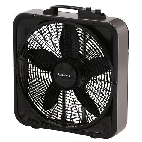 lasko 20 box fan lasko weather shield select 20 in 3 speed box fan with