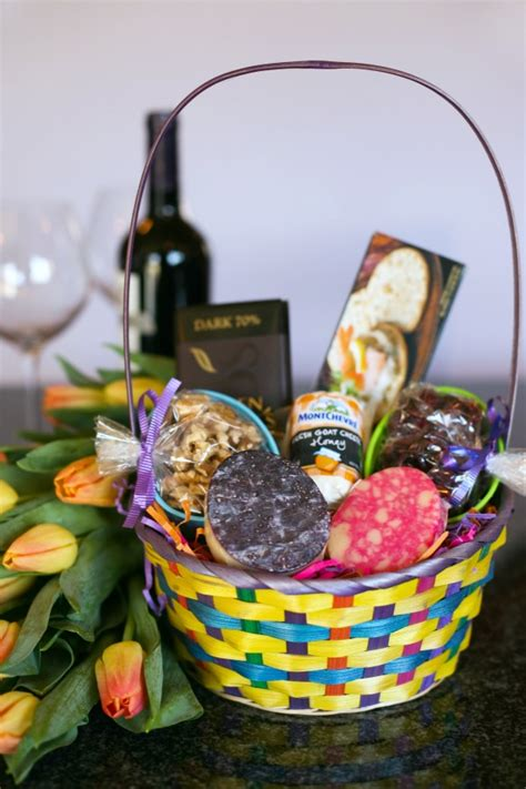 Easter Baskets For Adults | a unique easter basket perfect for a deserving adult
