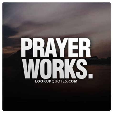 Work Pray prayers works
