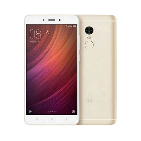 jual xiaomi redmi note 4 pro smartphone gold 3 gb 32 gb global version harga
