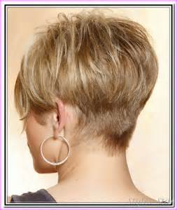 hair styles in front and in back short haircuts black women front and back style