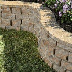 home depot rockwall pavestone 12 in yukon concrete wall block 81150 at the