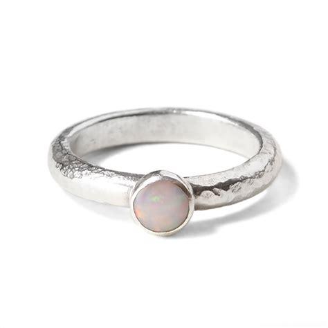 ariel white opal ring tegen jewellery