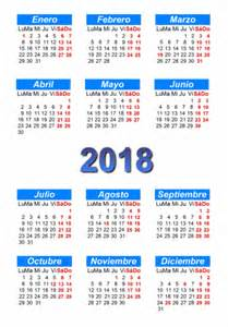 Calendario 2017 Y 2018 Calendarios 2017 2018 Para Descargar Y Compartir En El