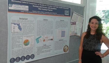 Uf Mba Diversity by Phmp Student Danielle Scheer Wins Poster Competition At