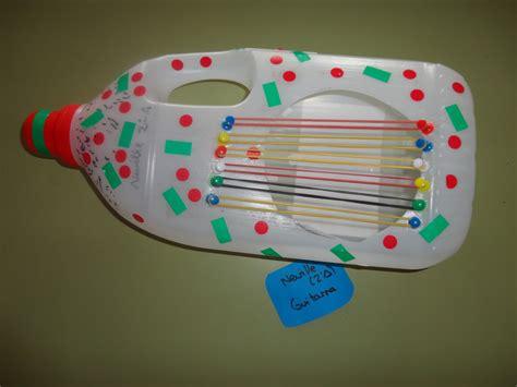 proyecto de instrumentos musicales con material reciclado en primaria notas de colores a m p a de la e e i gloria fuertes