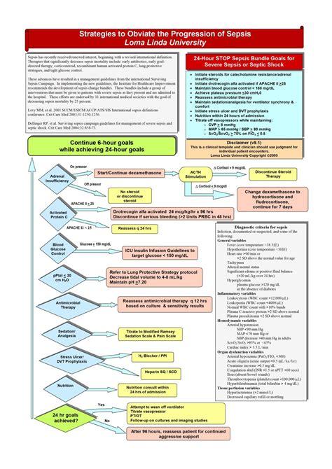 sepsis flowchart sepsis algorithm diagram related keywords sepsis