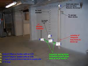 Standpipe For Basement Drain - when to use san t or tee wye ridgid plumbing woodworking and power tool forum