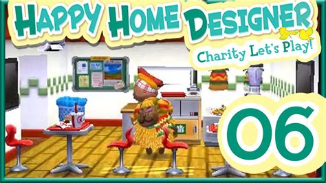 happy home designer new furniture let s play animal crossing happy home designer part 6 opening amiibo cards youtube