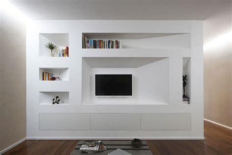 mobili in cartongesso per tv mobile soggiorno in cartongesso home design e