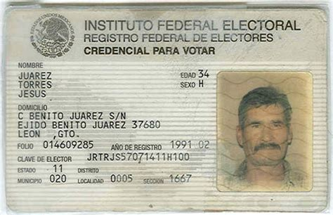 Search By Id Mexican Voter Id The Dustin Inman Society Secure American Borders Enforce