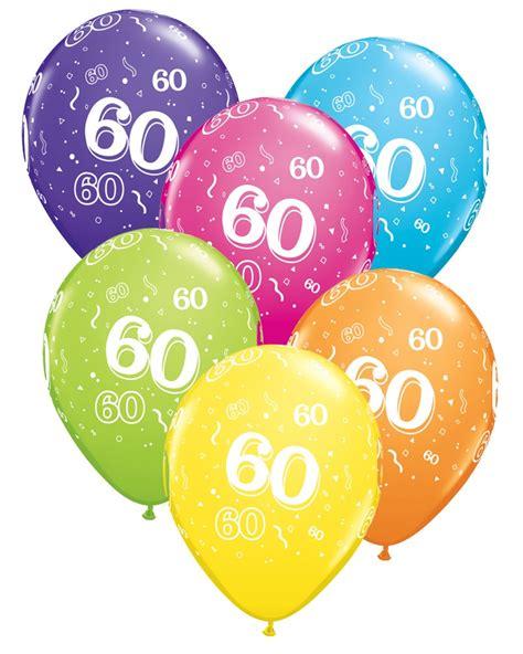 Balloon clipart 60th