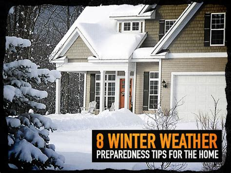 8 Tips For Winter by 8 Winter Weather Preparedness Tips For The Home