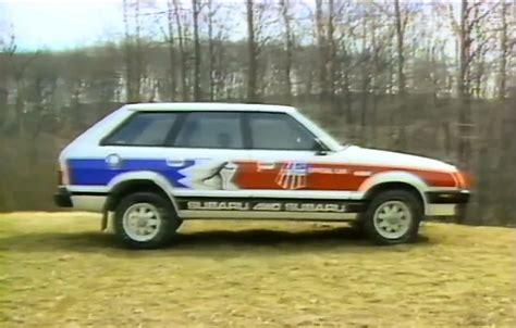 subaru gl 1983 187 1983 subaru gl 4x4 wagon test drive