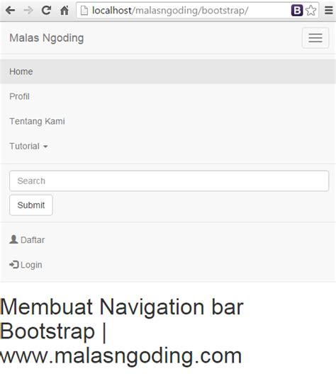 membuat menu dropdown bootstrap bootstrap part 12 membuat navigation bar bootstrap