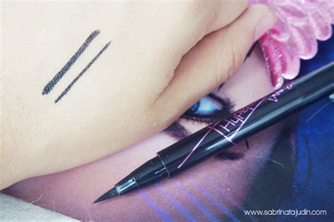 Eyeliner Maybelline Hypersharp maybelline hypersharp wings eyeliner review sabrina