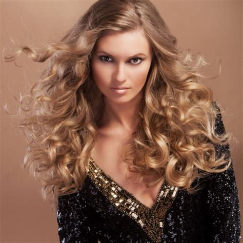 curly hairstyles glamour glamour hairstyles for long hair