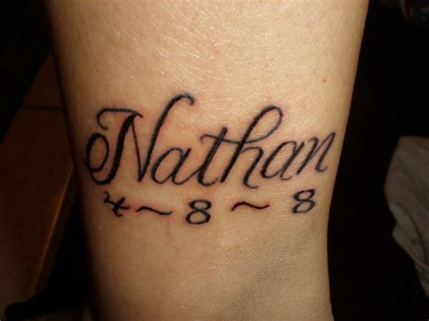 nate tattoo myson sname picture