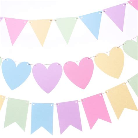 Bunting Flag Accphotobooth 1 pastel rainbow flag banner pastel bunting by makeitmerryshop bunting banner