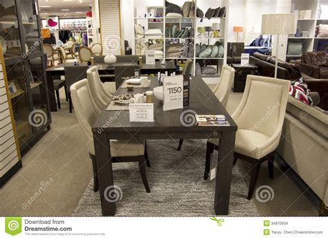stores that sell desks home furniture department store editorial stock image