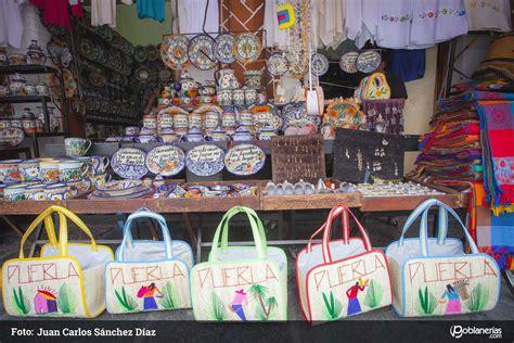 el parian el popular mercado de artesanias de puebla