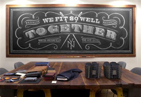 bagaimana  membuat letter art  dinding papan tulis