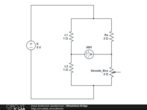 wheatstone bridge derivation pdf wheatstone bridge circuitlab
