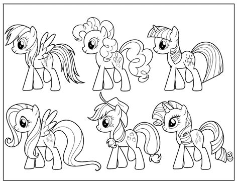 My Little Pony Coloring Page Az Coloring Pages My Little Az Coloring My Pony