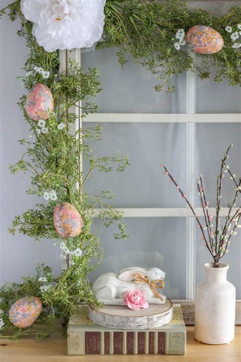 Make Your Own Decoupage Paper - diy decoupage easter egg garland archives the casual